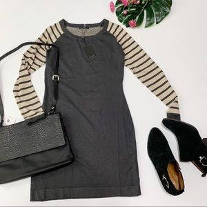 Tart Collections Long Sleeve Striped Sweater Dress